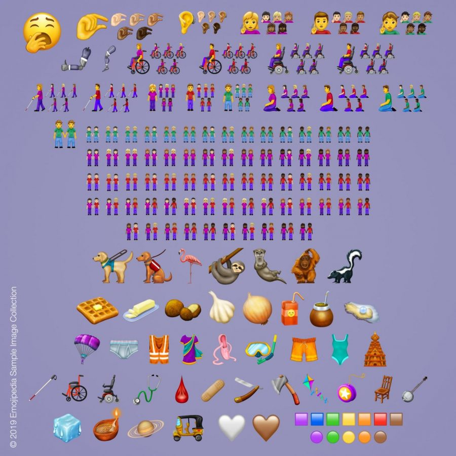 Reviewing designs of the new emoji