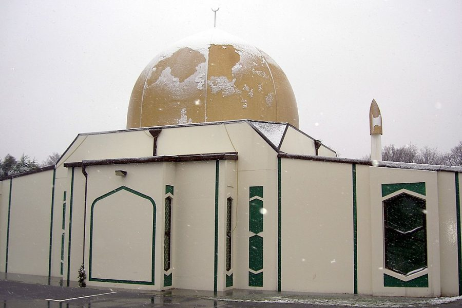 A photo of one of the Christchurch Mosques that were attacked this past weekend. The incident has again sparked conversations regarding how we react to mass shootings and acts of violent nationalism.