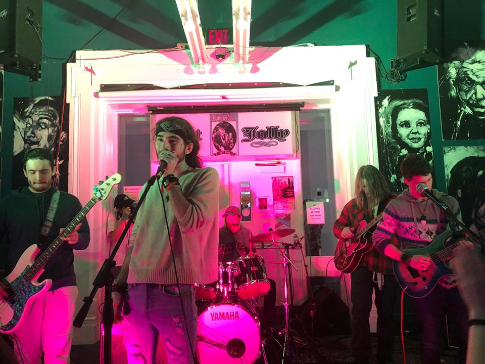 Sticky performed at the Battle of the Bands for a chance to play at Springfest 2019.