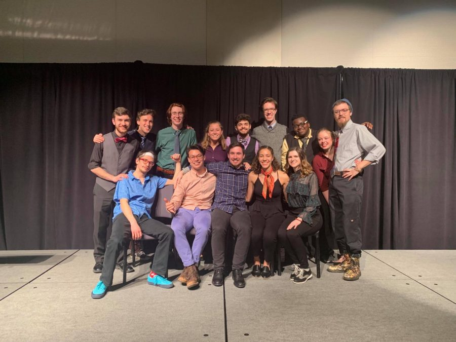 IMPROVment members at Lake Effect Comedy Festival
