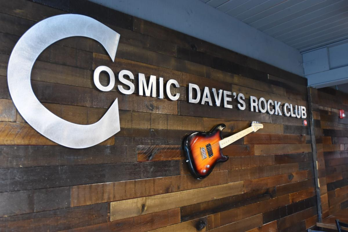 Cosmic Dave's Rock Club recently opened on North Residencial Village, replacing Barking Spider