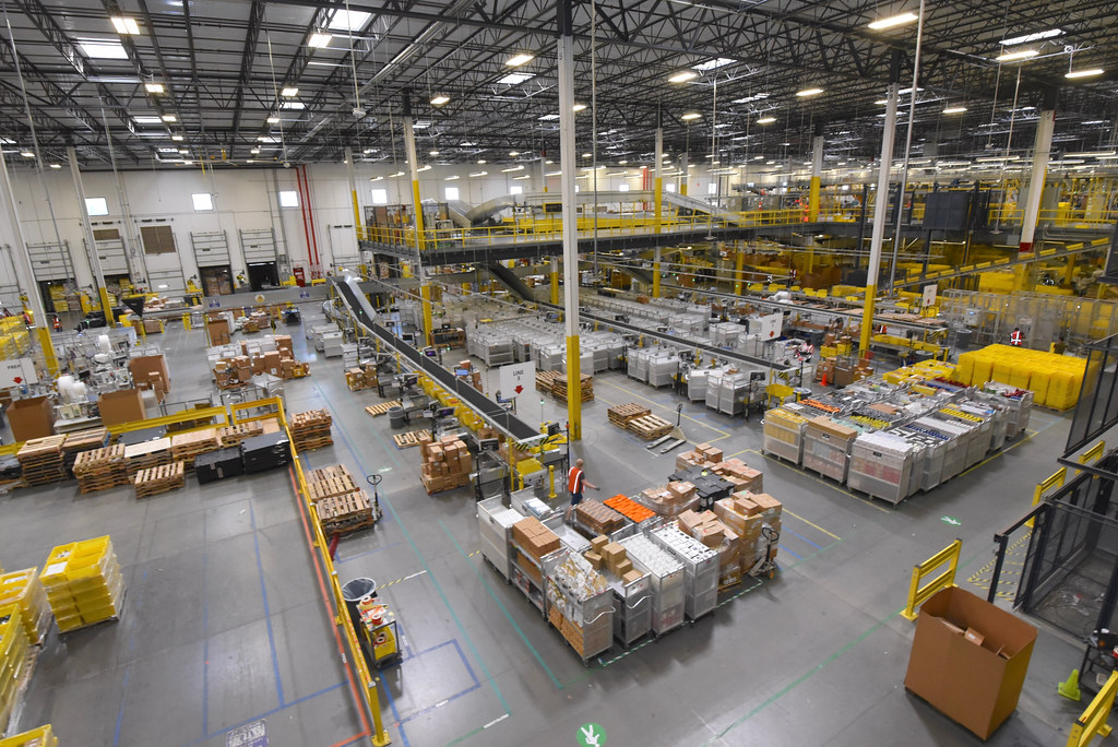 """Amazon warehouses often force their workers to work in """"Dickensian"""" conditions or else face unemployment."""
