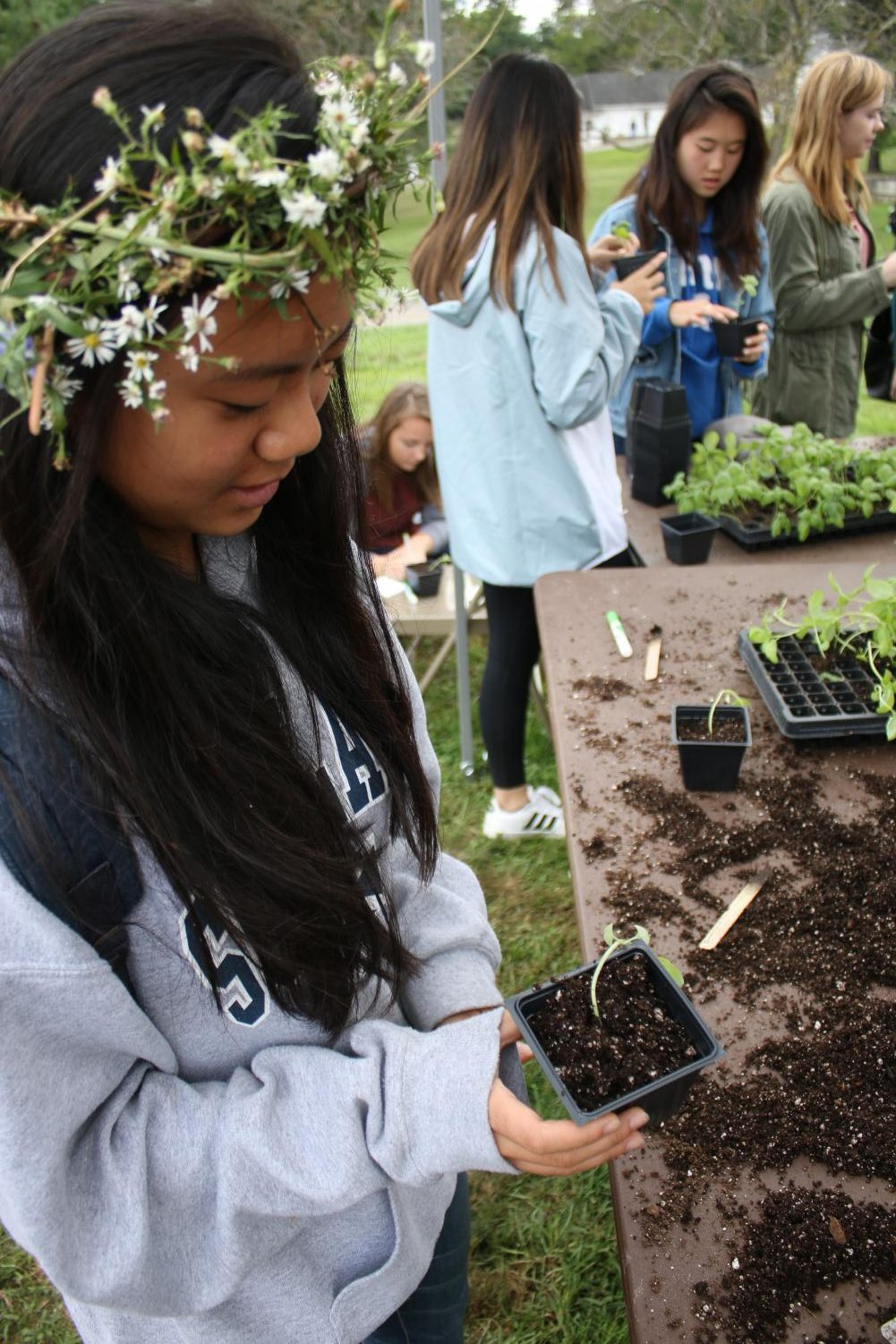 The annual Fall Harvest Festival held at University farms