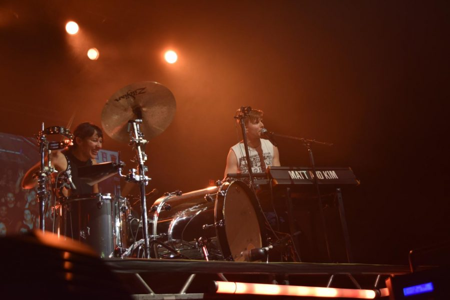 For Matt and Kim fans, grand tour hits all the right notes