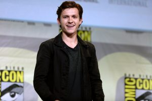 Tom Holland and Russo Brothers come to campus to film movie