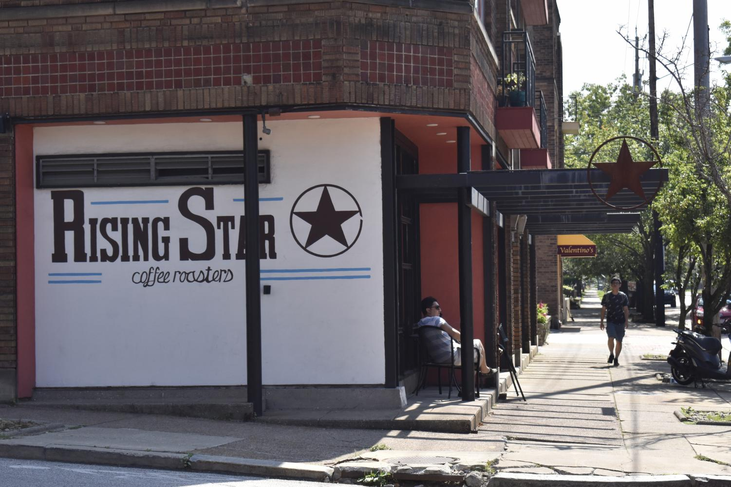 A coffee at the late Rising Star Coffee in Little Italy.