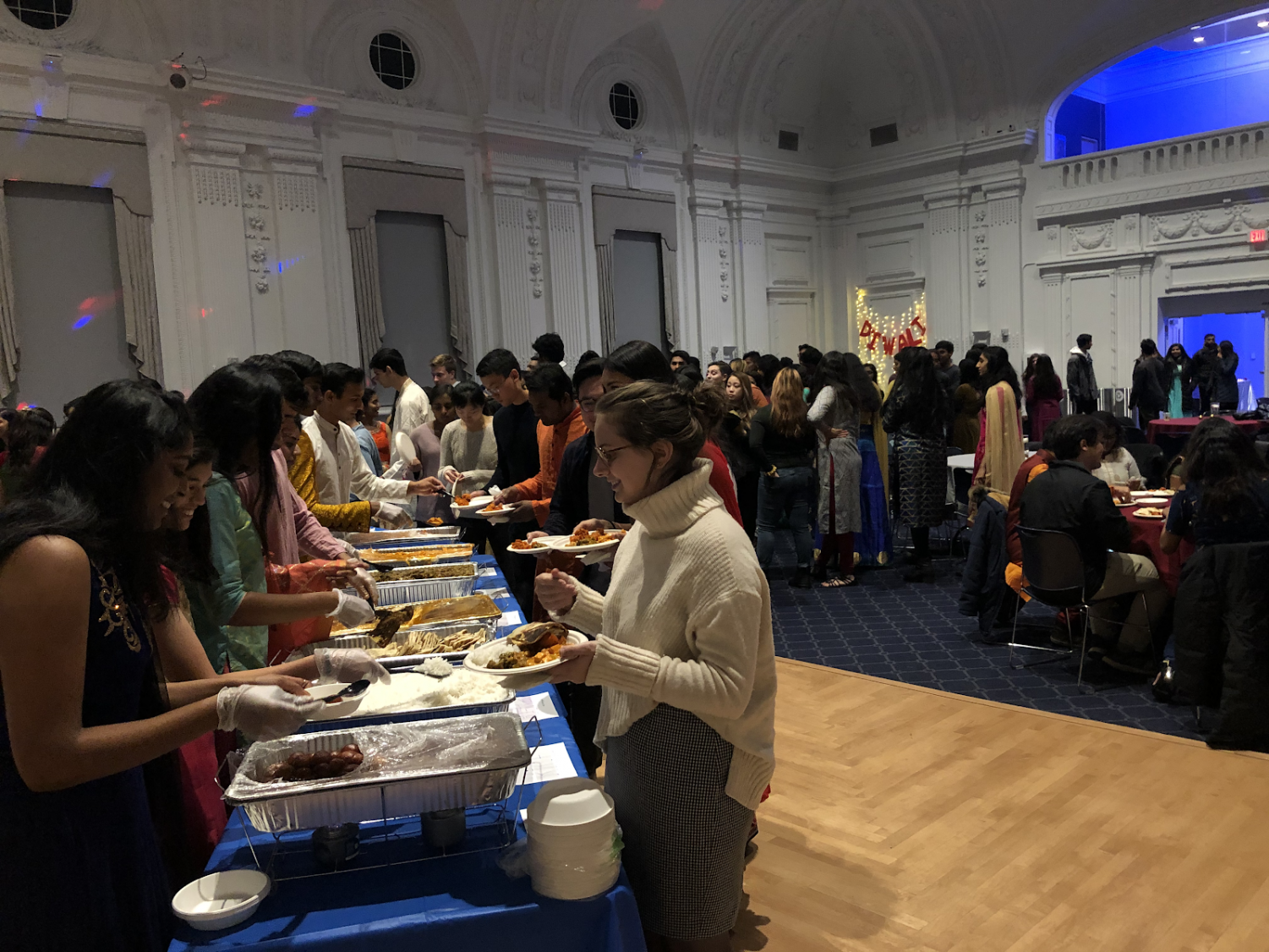 To some students, uISA's Diwali Dinner sold out in more ways than one.