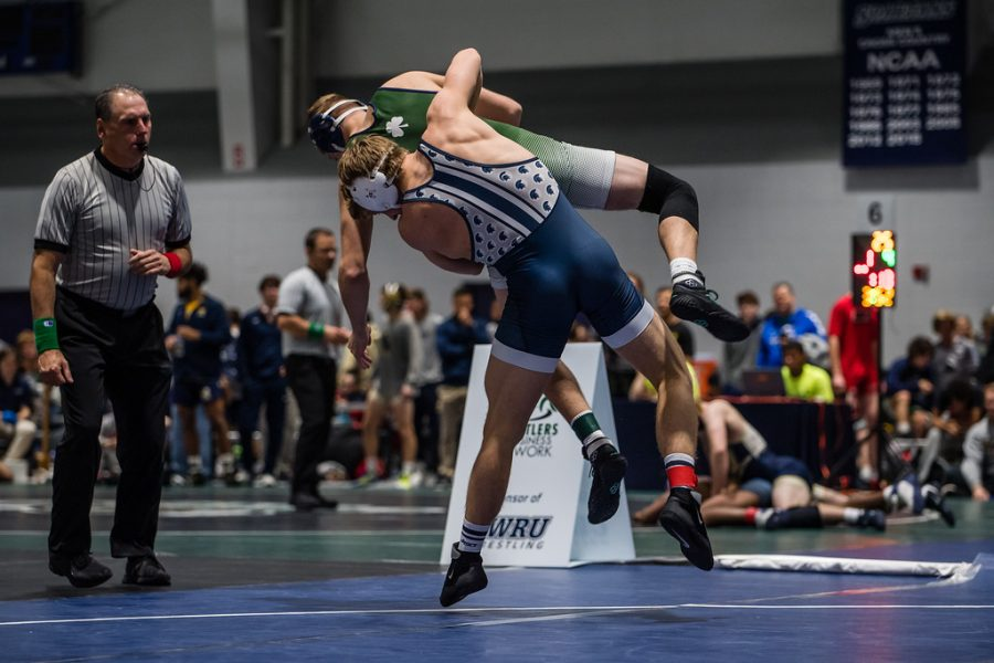 The Spartan wrestlers began their season with two tough matches against JCU and CSU.