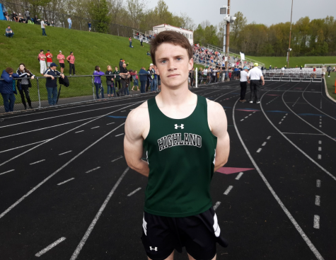 First-year runner appreciates the structure and discipline the track team provides