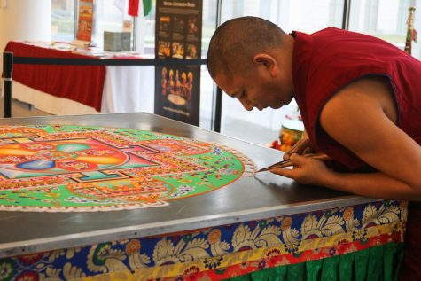 Tibetan monks come to CWRU