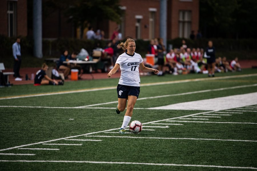 The CWRU Women's soccer team had a historic season culminating with the program's second NCAA Championship berth