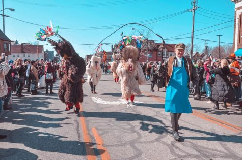 Cleveland community gathers for 8th annual Kurentovanje festival
