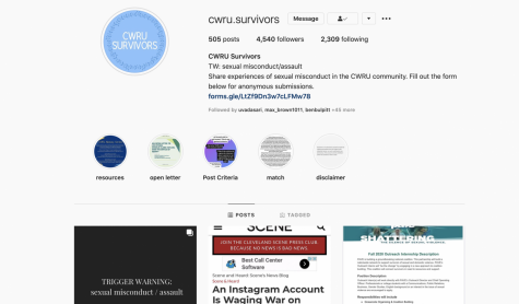 Instagram account of @cwru.survivors