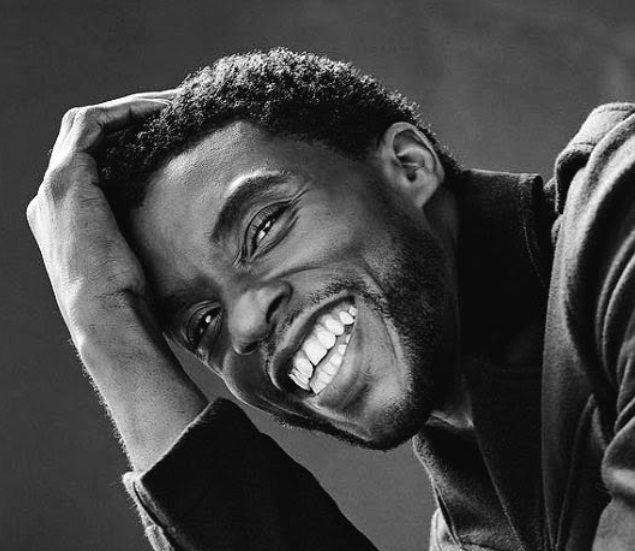 In memory of Chadwick Boseman