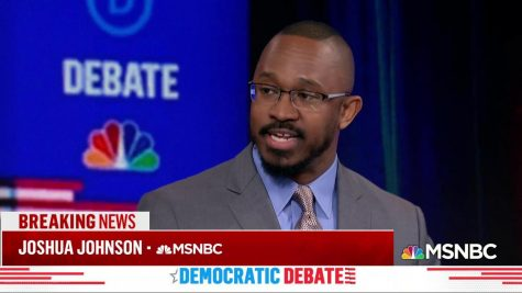 Joshua Johnson speaking on MSNBC