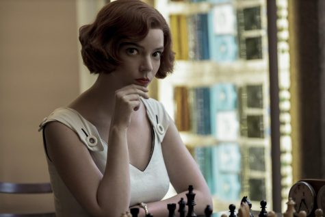 "Anya Taylor-Joy dominates as Beth Harmon, a fictionalized female version of chess grandmaster Bobby Fischer, in the new series ""The Queen"