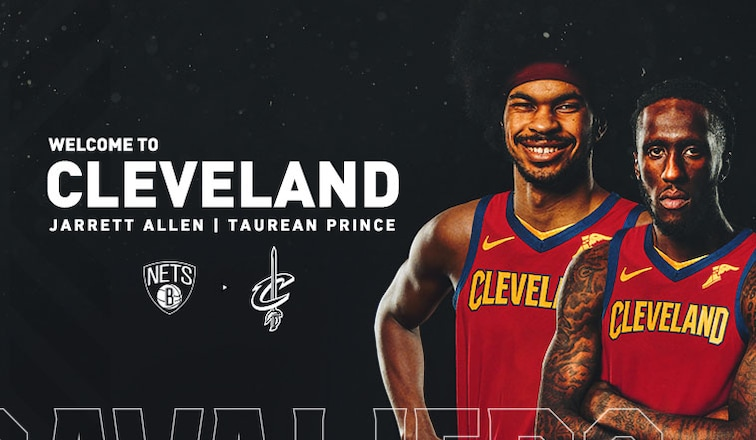 New additions Jarrett Allen and Taurean Prince aim to add depth to a developing Cavs team.