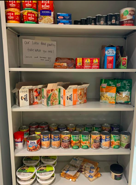 The Physical Resource Center food pantry seeks to help students in need.