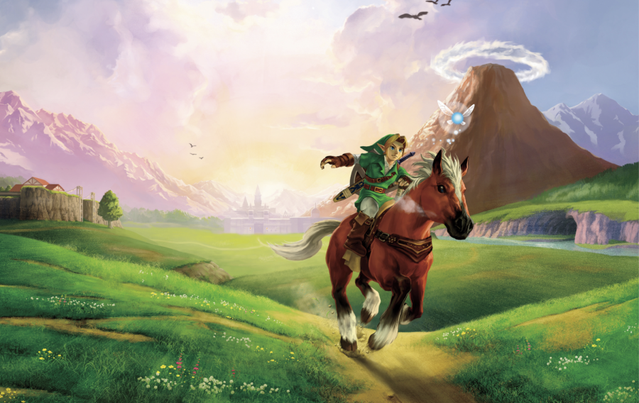 Ride throught the kingdom of Hyrule and celebrate the anniversary of the iconic