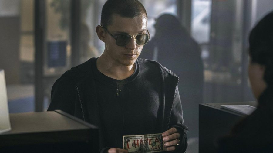 Tom Holland stars as a bank-robbing veteran suffering from PTSD in this disappointing Russos Brothers film.
