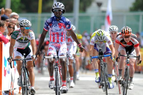 Rahsaan Bahati outraced his competition to win the Manhattan Beach Grand Prix in 2009.