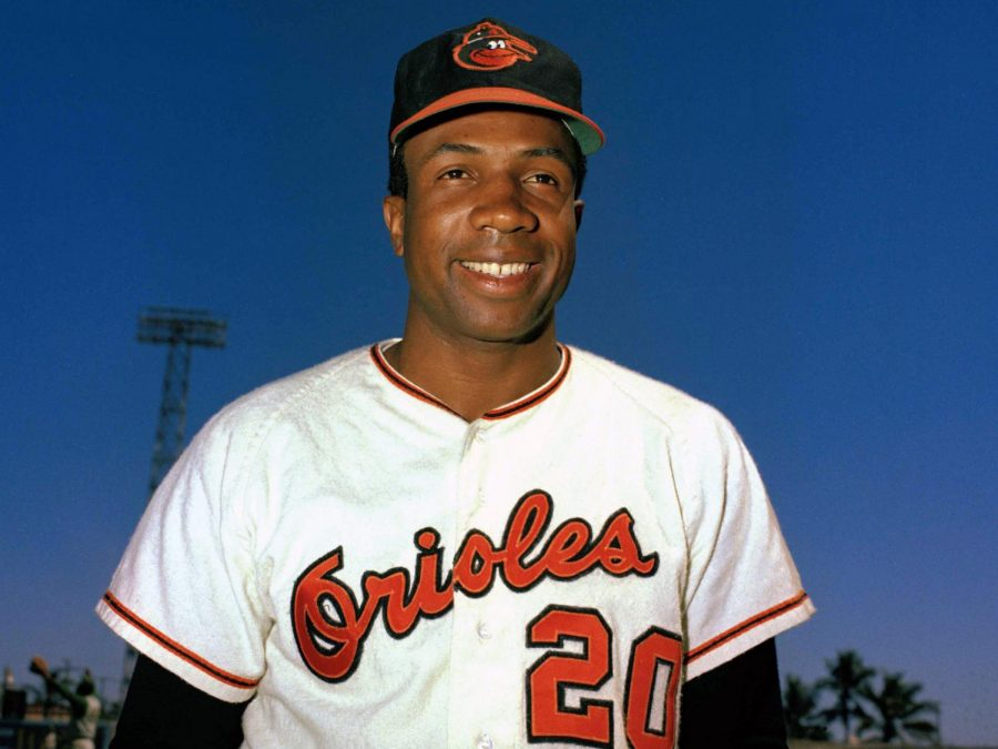 Frank Robinson won the National League MVP award during his time with the Cincinnati Reds and won the American League MVP award as a Baltimore Oriole.
