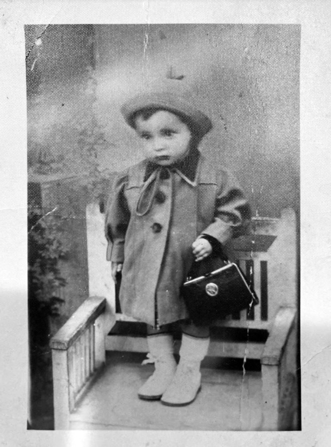 Schacter's great aunt, Pessi, whose life was cut short at 7 years old by the Holocaust.