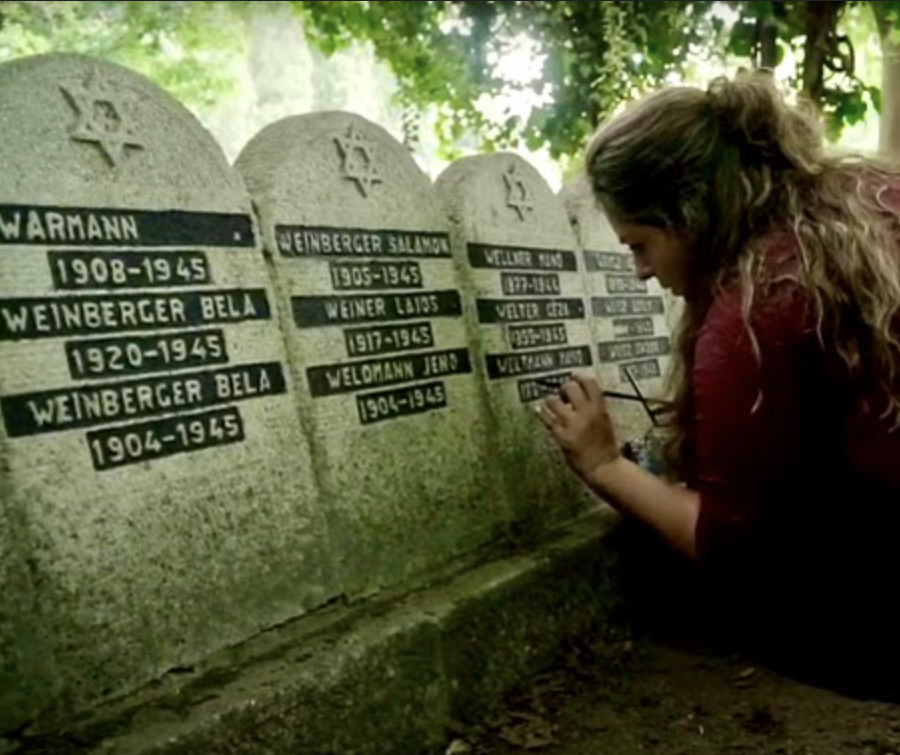 Schacter's sister volunteers her time restoring Jewish cemeteries, bulding relationships and promoting tolerance with grandchildren of both Holocaust victims and Nazis.