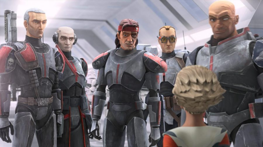 The Bad Batch, a clone trooper special forces unit made up of defective clones, takes Disney+ by storm.