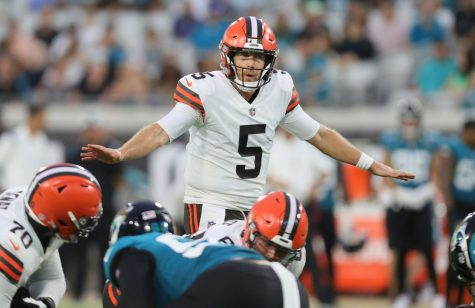 Cleveland Browns quarterback Case Keenum pilots the offense in a 23-13 win against the Jacksonville Jaguars.