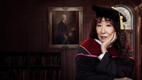 Sandra Oh stars as Professor Ji-Yoon Kim in Netflixs The Chair
