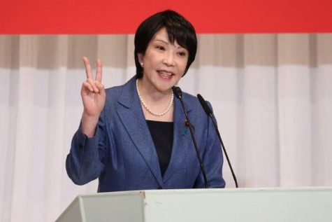 Sanae Takaichi, former Minister of Internal Affairs and Communications of Japan, seeks to become their first female Prime Minister.